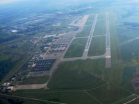 Rickenbacker International Airport (LCK) - Looking east from 3500'. - by Bob Simmermon