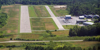 Wiscasset Airport (IWI) - Wiscasset Airport - IWI, 27 approach - by mcsteph5islands