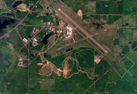 Houghton County Memorial Airport (CMX) - Vertical aerial of cmx airport - - by skypixs aerials
