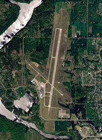 Ford Airport (IMT) - IMT-Ford Airport Iron Mountain - by Rick Anderson