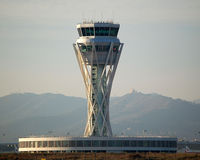 Barcelona International Airport, Barcelona Spain (LEBL) - The new ATC tower of BCN, operative from February 2007. - by Jorge Molina