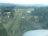Grove Field Airport (1W1) - on short final to Rwy 07 - by andy_298