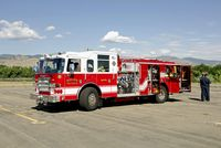 Boulder Municipal Airport (BDU) - Boulder Fire & Rescue at Boulder Opne House - by John Little