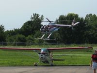 Fairfield County Airport (LHQ) - Helicopter rides (N9166F) at Wings of Victory Airshow - Lancaster, OH - by Bob Simmermon