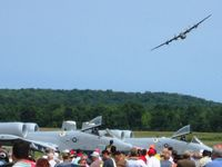 Fairfield County Airport (LHQ) - B24 Liberator (N24927) at Wings of Victory Airshow - Lancaster, OH - by Bob Simmermon