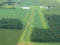 Packer Airport (5E9) - Looking west from 2500' - by Bob Simmermon