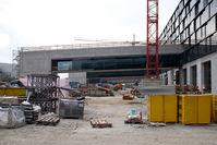 Vienna International Airport, Vienna Austria (VIE) - Terminal Skylink construction area - by Yakfreak - VAP