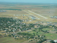 Hale County Airport (PVW) - On base leg. - by Craig Hackler