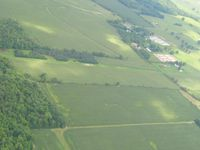 Horning Airport (OH21) - Looking SE from 2500' - by Bob Simmermon