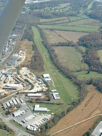 Silver Creek Airport (NC52) - Looking down runway 9 at Silver Creek - by Bradley Bormuth