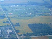 Brennand Airport (79C) - Looking west from 3500' - by Bob Simmermon