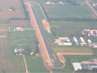 Nappanee Municipal Airport (C03) - Looking SE from 3500' - by Bob Simmermon