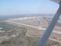 Mobile Downtown Airport (BFM) - Approach end of RWY 36 - by D. Luke