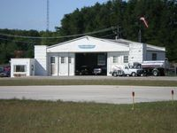 Harbor Springs Airport (MGN) - Harbor Springs Flight Service Center - by Geoffrey