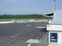 Sheboygan County Memorial Airport (SBM) - Part of the FBO as seen from the balcony. Not only were the folks nice and friendly, I was given a tour of the FBO by an employee. There is even a reading library with lots of old flying magazines! - by IndyPilot63