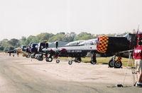 Space Coast Regional Airport (TIX) - warbird lineup - by Florida Metal