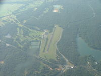 Lake Murray State Park Airport (1F1) - Good look at Rnwy 32 - by B.Pine