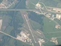 Terrell Municipal Airport (TRL) - Terrell Airport looking down - took off from DFW - by B.Pine
