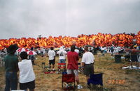 James M Cox Dayton International Airport (DAY) - pyros at Dayton Air Show - by Florida Metal