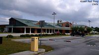 Coastal Carolina Regional Airport (EWN) - The Terminal building in New Bern - by Paul Perry