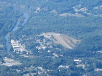 Sossamon Field Airport (57NC) - From 8000' - by Bob Simmermon