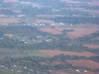 Brown County Airport (GEO) - Looking W from 5000' - by Bob Simmermon