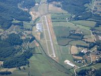 Macon County Airport (1A5) - From 8000' - by Bob Simmermon