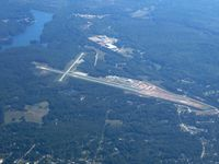 Toccoa Rg Letourneau Field Airport (TOC) - From 8000' - by Bob Simmermon