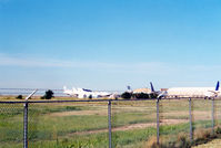 Roswell International Air Center Airport (ROW) - 747's and L1011's meeting their end at Roswell - Former Walker Air Force Base - by Zane Adams