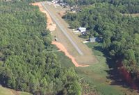 Air Harbor Airport (W88) - end of runway has steep drop off (does not show up well in photo) - by Tom Cooke