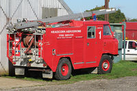 Lashenden/Headcorn Airport, Maidstone, England United Kingdom (EGKH) - Rescue 1 at stand-by - by Jeff Sexton