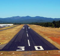 Grants Pass Airport (3S8) - Approch to Calm wind runway - by Pacific Aviation Northwest. Inc