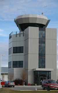 Calgary/Springbank Airport (Springbank Airport) - Contol Tower - by Bill Knight