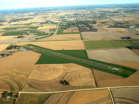 Houston County Airport (CHU) - Looking North w/ Caledonia City in background - by Dale N Scobie