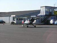 Turweston Aerodrome Airport, Turweston, England United Kingdom (EGBT) - View of the tower at Turweston - by Simon Palmer