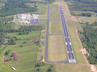 Wilkes County Airport (UKF) - Aerial view of UKF looking from south - by planefunpilot