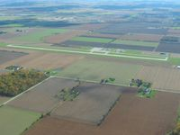 Fostoria Metropolitan Airport (FZI) - Looking south from 2500' - by Bob Simmermon