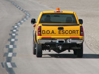 Mc Carran International Airport (LAS) - McCarran Airport D.O.A. Escort (I cut out the plate number) - by Brad Campbell