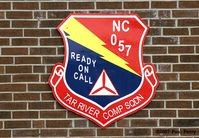 Rocky Mount-wilson Regional Airport (RWI) - The Squadron Badge - by Paul Perry