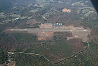 Foothills Regional Airport (MRN) - Foothills Airport from 4500 feet - by Bradley Bormuth