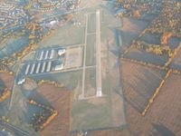 Indianapolis Metropolitan Airport (UMP) - From 4500' on a frosty fall morning - by Bob Simmermon