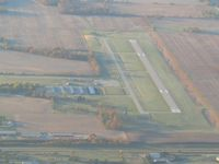Hendricks County-gordon Graham Fld Airport (2R2) - From 4500' on a frosty fall morning - by Bob Simmermon