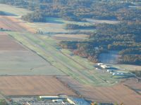 Putnam County Airport (4I7) - From 4500' on a frosty fall morning - by Bob Simmermon