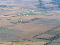 Vandalia Municipal Airport (VLA) - Looing NW from 4500' - by Bob Simmermon