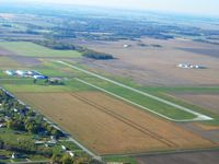 Greenville Airport (GRE) - In the pattern, looking south. - by Bob Simmermon