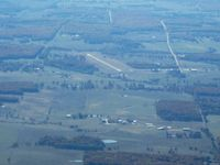 Salem Memorial Airport (K33) - Looking SW from 4500' - by Bob Simmermon