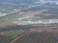 Grove Municipal Airport (GMJ) - From 4500' - by Bob Simmermon