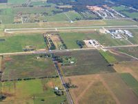 Smith Field Airport (SLG) - Nice fall day from 3500' - by Bob Simmermon