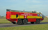 Bournemouth Airport, Bournemouth, England United Kingdom (EGHH) - Fire Engine no.2 - by Les Rickman