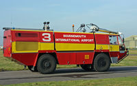 Bournemouth Airport, Bournemouth, England United Kingdom (EGHH) - Fire Engine no.3 - by Les Rickman